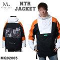 21-22 MARQLEEN NTR JACKET MQ02005 マークリーン スノーボードウェア エヌティーアール ジャケット ユニセックス