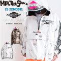 21-22 Mtn. Rock Star Plan B マウンテンロックスター プランビー PULL OVER JACKET [LAGGAGE] [FOREST] プルオーバー ジャケット スノーボードウェア ユニセックス