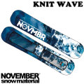 NOVEMBER ノベンバー スノーボード SOLECOVER KNIT WAVE ソールカバー ニットケース ニットカバー ノーベンバー ボードケース