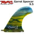 Rainbow Fin レインボーフィン Garret Spencer 9.5  [12] ロングボード センターフィン シングル フィン