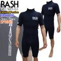 RASH ラッシュ ウェットスーツ JB LIMITED BACK ZIP バックジップ スプリング 2mm x 2mm メンズ ウエットスーツ ハイストレッチマテリアル 日本製