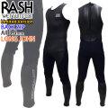 [ラストLサイズ1着限りfollows特別価格] RASH ラッシュ ウェットスーツ JB LIMITED BACK ZIP バックジップ ロングジョン BLKスキン 3.5mm メンズ  数量限定モデル クラシックスタイル ハイストレッチマテリアル 日本製