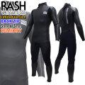 21-22 RASH ラッシュ ウェットスーツ セミドライ フルスーツ 5x3mm メンズ ウエットスーツ 数量限定モデル JB BACK ZIP バックジップ DRK 全身裏起毛 防水ファスナー仕様 国産高級ウェットスーツ