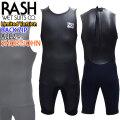 RASH ラッシュ ウェットスーツ JB LIMITED BACK ZIP バックジップ ショートジョン BLKスキン ALL2mm メンズ  数量限定モデル クラシックスタイル ハイストレッチマテリアル 日本製
