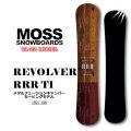 21-22 MOSS SNOWBOARD モス スノーボード REVOLVER RRR Ti リボルバー トリプルアール ティーアイ 150cm 158cm メタル テクニカルボード カービングボード オガサカ製 スノボ 板 送料無料