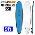 [6月下旬~7月上旬入荷予定] [送料無料] ソフトボード サーフィン ロングボード ストーム ブレード ソフトサーフボード STORMBLADE 9ft PERFORMANCE SSR SURF BOARD [パフォーマンス エスエスアールス] 9'0 TRI FIN