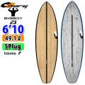torq surfboard トルク サーフボード ACT BIGBOY 6'10 ビッグボーイ ショートボード future 5Plug [送料無料]