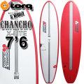 ファンボード ミッドレングス torq surfboard トルク サーフボード アルメリック チャンチョ CHANCHO 7'6 [RED PINLINE] AL MERRICK CHANNEL ISLANDS エポキシボード X LITE EPSボード [営業所止め送料無料]