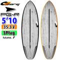 torq surfboard トルク サーフボード ACT PG-R 5'10 ピージーアール ショートボード future 5Plug [送料無料]