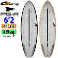 torq surfboard トルク サーフボード ACT PG-R 6'2 ピージーアール ショートボード future 5Plug [送料無料]
