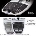 スレーター デザイン SLATER DESIGNS サーフィン デッキパッド 4ピース FLAT PAD FireWire