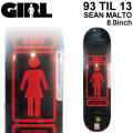 GIRL ガール スケートボード デッキ 93 TIL 13 SEAN MALTO ショーン・マルト [GL-29] 8.0inch スケボー パーツ SKATE BOARD DECK