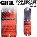 GIRL ガール スケートボード デッキ POP SECRET3  ANDREW BROPHY アンドリュー・ブロフィー [GL-31] 8.0inch スケボー パーツ SKATE BOARD DECK