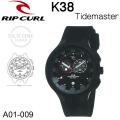 【代引き手数料無料】Rip Curl  リップカール  腕時計 K38 Tidemaster  タイドマスター サーフウォッチ 防水腕時計 [A01-009] 【日本正規品】