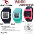 【代引き手数料無料】Rip Curl  リップカール レディース  腕時計 WINKI Oceansearch ウィンキ オーシャンサーチ サーフウォッチ  [A03-001] 日本正規品