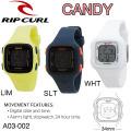 【代引き手数料無料】Rip Curl  リップカール レディース  腕時計 CANDY キャンディー サーフウォッチ  [A03-002] 日本正規品