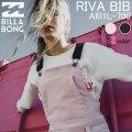 18-19 BILLABONG スノーボードウェア AI01L-700 ビラボン スノーウェア RIVA BIB レディース パンツ PANTS