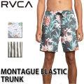 2019 RVCA ルーカ メンズ ボードショーツ 柄 MONTAGUE ELASTIC TRUNK AJ041-503  トランクス 水着 サーフ