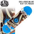 ALIEN WORKSHOP スケートボード コンプリート エイリアン ワークショップ OG LOGO BLUE [8.0×31.75インチ] [AW-102] スケボー 完成品 SKATE BOARD COMPLETE