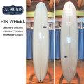 【送料無料】ALMOND SURFBOARDS アーモンド サーフボード PIN WHEEL ピンホイール 9'0 [5301] サーフボード ロングボード