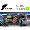 FUTURE FINS フューチャーフィン ALPHA F4 (S) carbon red TRI トライフィン 3fin