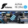 FUTURE FINS フューチャーフィン ALPHA F8 [L] アルファ carbon green TRI トライフィン 3fin サーフィン サーフボード [送料無料]