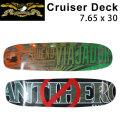 【在庫1本限り特別価格】 SKATE スケートボード デッキ ANTI HERO アンチ ヒーロー CRUISER DECK  クルーザー スケボー