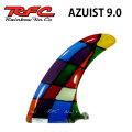 サーフィン フィン Rainbow Fin レインボーフィン AZUIST 9.0 [134] ロングボード センターフィン