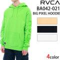2020 RVCA ルーカ BA042-021 BIG PIXEL HOODIE パーカー プルパーカー アパレル メンズ