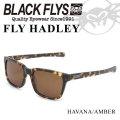 ブラックフライ サングラス 2018 BLACK FLYS FLY HADLEY フライ へドリー [HAVANA AMBER POL] [BF-1194-02]
