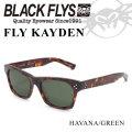2018 BLACK FLYS ブラックフライ サングラス FLY KAYDEN フライ ケイデン [HAVANA GREEN] [BF-1225-02]