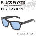 2018 BLACK FLYS ブラックフライ サングラス FLY KAYDEN フライ ケイデン 偏光レンズ [BLACK/LIGHT BLUE POL] [BF-1225-03]