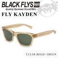 2018 BLACK FLYS ブラックフライ サングラス FLY KAYDEN フライ ケイデン 偏光レンズ [C.BEIGE/GREEN POL] [BF-1225-04]