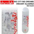 CHOCOLATE スケートボード デッキ チョコレート  [CH-5] BIG CITY BIG DREAMS VINCENT ALVAREZ ヴィンセント・アルバレス SKATEBOARD DECK スケボー
