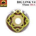 SATORI MOVEMENT WHEEL サトリムーブメント サトリウィール [S-16] BIG LINK V4 53mm 101A ハードウィール SKATE BOARD スケートボード ウィール