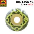 SATORI MOVEMENT WHEEL サトリムーブメント サトリウィール [S-17] BIG LINK V4 52mm 101A ハードウィール SKATE BOARD スケートボード ウィール