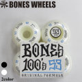 BONES WHEEL 100's ボーンズ ウィール スケボー  [20] [21] 53mm SKATE BOARD スケートボード ウィール