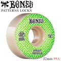 BONES WHEEL PATTERNS LOCKS STF V2 ボーンズ ウィール スケボー [B-4] 52mm 99A スケートボード ストリート系