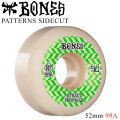 BONES WHEEL PATTERNS SIDECUT STF V5 ボーンズ ウィール スケボー [B-8] 52mm 99A スケートボード ストリート系