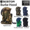 17-18 バートン BURTON BURKE HOOD フードウォーマー ネックウォーマー 帽子 ヘルメット スノーボード 正規品