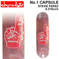 CHOCOLATE スケートボード デッキ チョコレート No.1 CAPSULE STEVIE PEREZ スティービー・ペレズ [CH-30] 8.375inch スケボー パーツ SKATE BOARD DECK