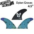 """[9月30日まで期間限定価格] CAPTAIN FIN  キャプテンフィン Dylan Graves 4.5"""" ディラン・グレイブス ショートボード用 トライフィン"""