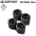 carver カーバー サーフスケート ウィール MUG WHEEL マグウィール 70mm 4個1SET スケートボード