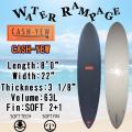 [即出荷可能]【送料無料】WATER RAMPAGE  ウォーターランページ サーフボード CASH-YEW 8'0 ファンボード ソフトボード スポンジボード ALMOND