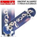 CHOCOLATE チョコレート スケートボード コンプリート  VINCENT ALVAREZ ヴィンセント・アルバレス [CH-126] [CH-127] 完成品 スケボー SKATE BOARD COMPLETE