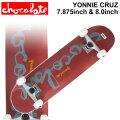 CHOCOLATE チョコレート スケートボード コンプリート  YONNIE CRUZ ヨニー・クルーズ [CH-128] [CH-129] 完成品 スケボー SKATE BOARD COMPLETE