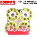 CHOCOLATE WHEEL HECOX WHEELS チョコレート ウィール 50mm 99DURO(99A) [C-1] スケートボード スケボー SK8