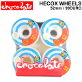CHOCOLATE WHEEL HECOX WHEELS チョコレート ウィール 52mm 99DURO(99A) [C-2] スケートボード スケボー SK8