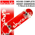 CHOCOLATE チョコレート スケートボード コンプリート HOUSE COMPLETES KENNY ANDERSON ケニー・アンダーソン [CH-119] [CH-120] 完成品 スケボー SKATE BOARD COMPLETE