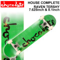 CHOCOLATE チョコレート スケートボード コンプリート HOUSE COMPLETES RAVEN TERSHY レイヴン・ターシー [CH-121] [CH-122] 完成品 スケボー SKATE BOARD COMPLETE